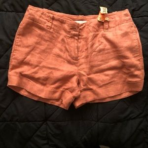 LOFT Salmon Shorts